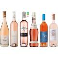 Růžová vína - sada těch nejlepších rosé z Francie
