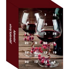 Adventní vinný kalendář - mini 8 druhů