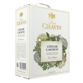 Bag-in-Box 3L Gascogne blanc - Pierre Chavin