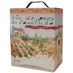 Bag-in-Box 3L červené Fruity - Marrenon