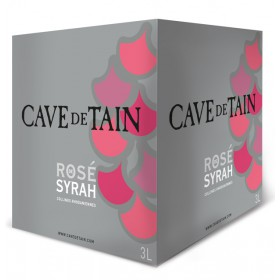 Syrah rosé - Bag in Box 3L
