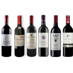Sada 6 vín - Bordeaux 2015