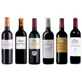 Sada 6 vín - Tour de Bordeaux