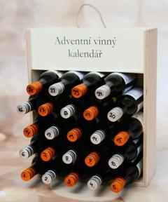 Adventní vinný kalendář mini verze
