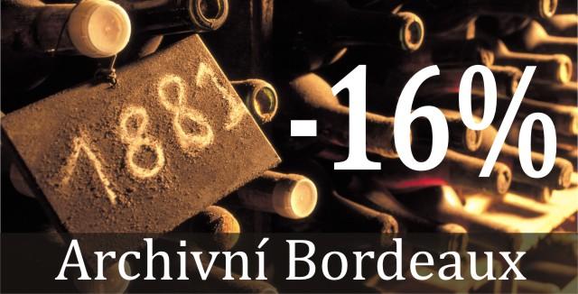 Otevřeli jsme archív starých Bordeaux