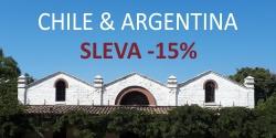 Chile a Argentina - akční sleva