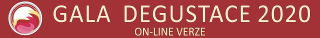 Gala degustace On line