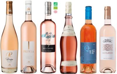 Sada francouzských rosé