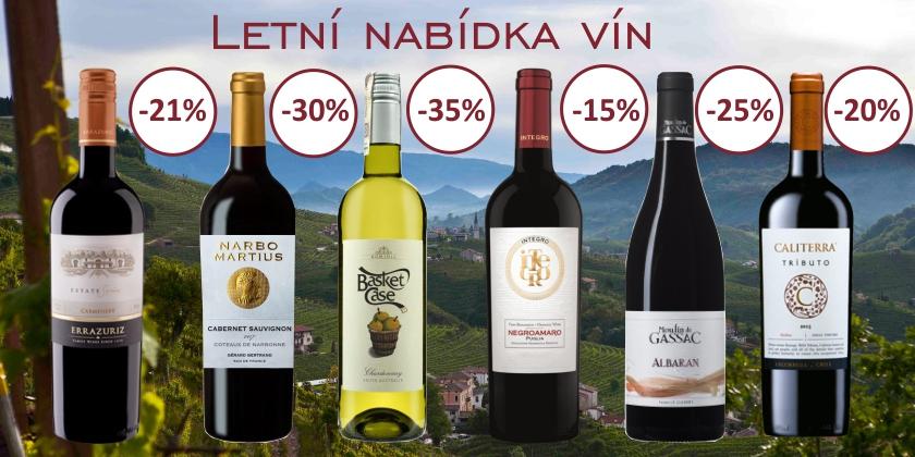 Letní nabídka vín
