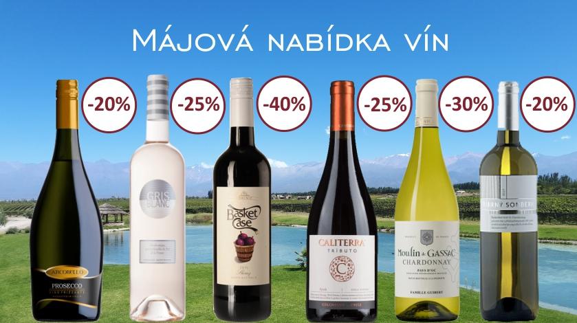 Májová nabídka vín
