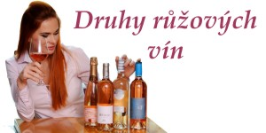 Druhy růžových vín