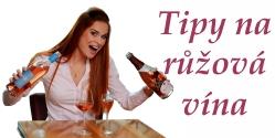 Tipy na růžová vína