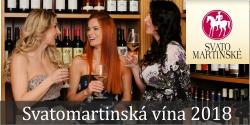 Svatomartinská vína 2018