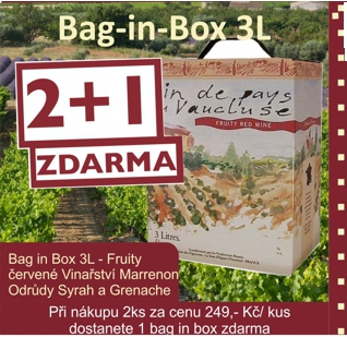 Bag in Box rouge Fruity Marrenon