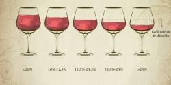 Kolik vína nalévat do skleničky