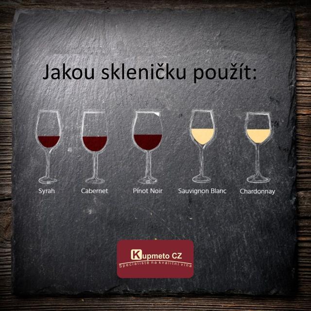 Jaké skleničky použít na jaké odrůdy