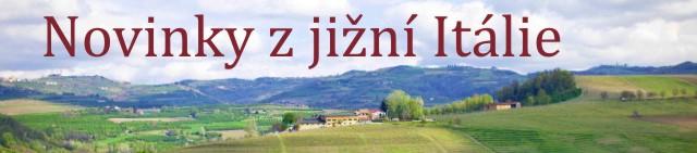 Novinky z Jižní Itálie