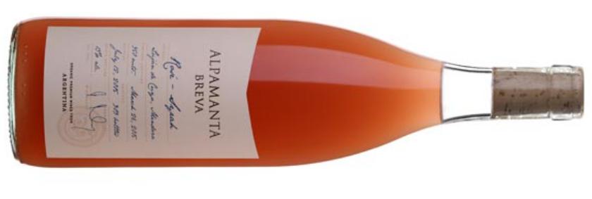 Syrah rosé Alpamanta