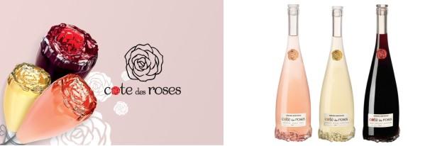 Sada růžových vín