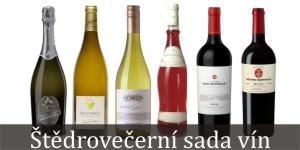 Štědrovečerní sada vína