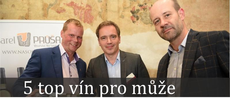 Top 5 vín pro muže