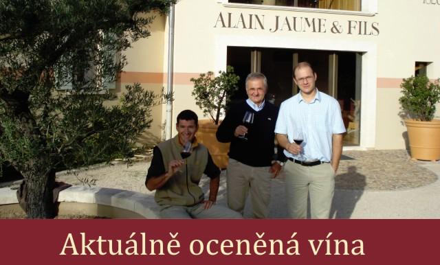 Oceněná vína Alain Jaume