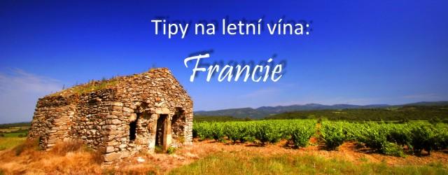 Letní vína - Francie