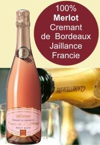 Cremant de Bordeaux rosé Jaillance