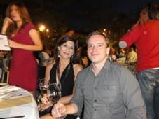 Laura Garrique (G. Bertrand) a Martin Kozák (Kupmeto CZ)