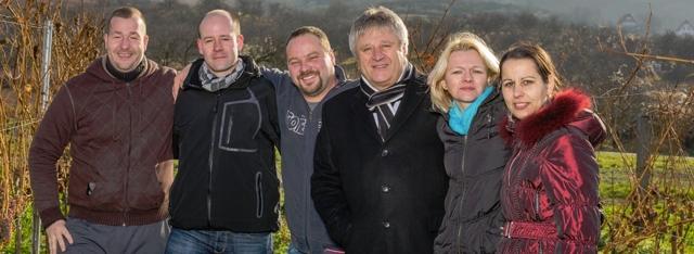 Vinařství Volařík - team