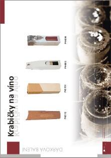 Katalog dárkových obalů