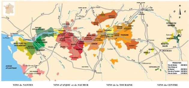 Mapa Loiry