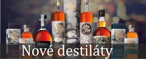 Destiláty - Rum, Cognac, ovocné pálenky