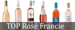 Top rosé Francie