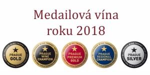 Medailová a oceněná vína v Prague Wine Trophy